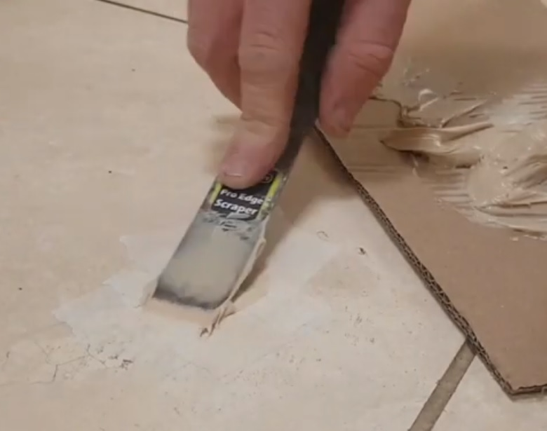 Travertine cleaning and filling Sydney CBD