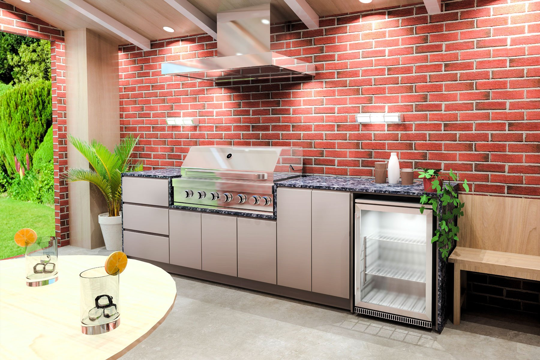 How You Can Benefit From Outdoor Kitchen Cabinets